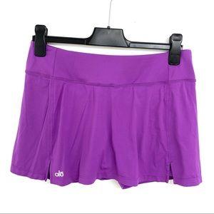 ALO Yoga Purple Skort